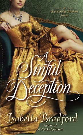 A Sinful Deception (Breconridge Brothers, #2)