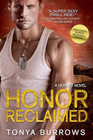 Tonya's Review of Honor Reclaimed (HORNET #2) by Tonya Burrows