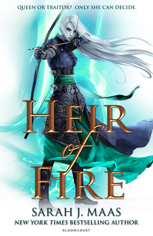 Heir of Fire by Sarah J. Maas book cover image