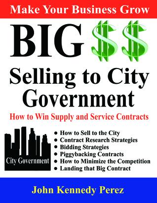 Big Money Selling to City Government John Perez