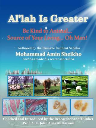 Allah is Greater Be Kind to Animal Mohammad Amin Sheikho