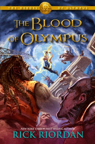 Book Review: Rick Riordan's The Blood of Olympus