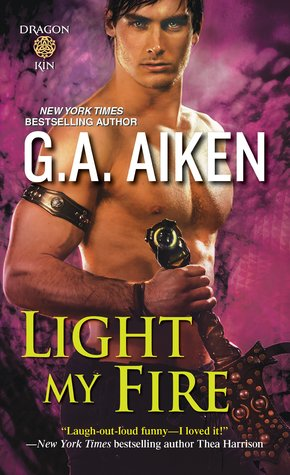 Book Review: Light My Fire by G.A. Aiken