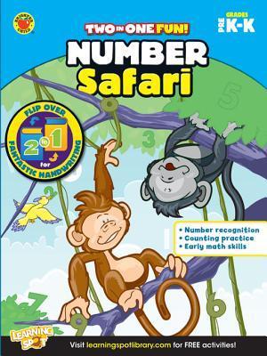 Number Safari & Fantastic Handwriting, Grades Pk - K  by  Brighter Child