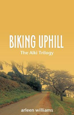 Biking Uphill by Arleen Williams