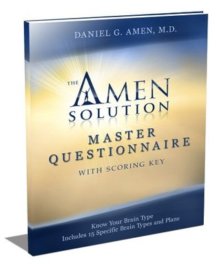 The Amen Solution Master Questionnaire  by  Daniel G. Amen