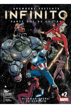 Avengers presenta Infinito: Parte dos de cuatro (Infinito, #2) Jonathan Hickman