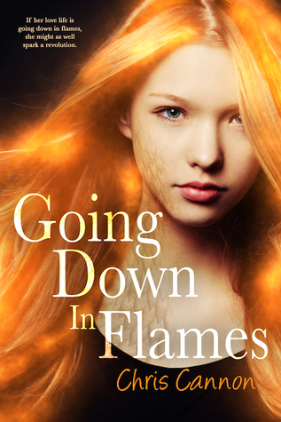 {ARC Review+Giveaway} Going Down in Flames by Chris Cannon @entangledteen @ccannonauthor