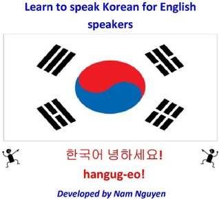 Learn to speak Korean for English speakers Nam Nguyen