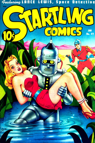 Startling Comics, Number 49, The Green Men of Kharma  by  Better/Nedor/Standard/Pines