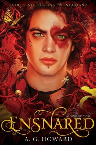 Ensnared by A.G. Howard book cover