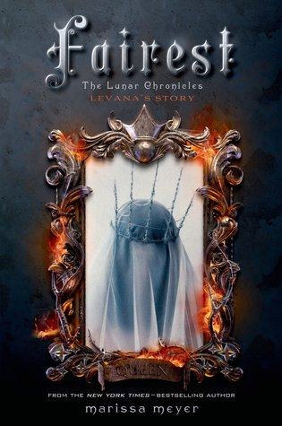 Fairest by Marissa Meyer book cover