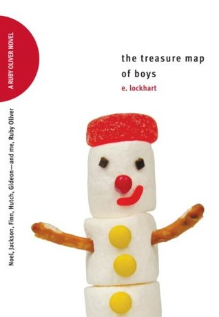 The Treasure Map of Boys: Noel, Jackson, Finn, Hutch, Gideon—and me, Ruby Oliver