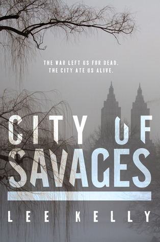 City of Savages by Lee Kelly  book cover