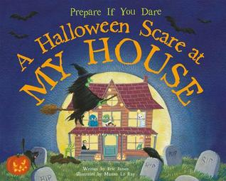 {Review} A Halloween Scare at My House by Eric James (with Giveaway)
