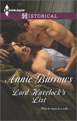 Lord Havelock's List by Annie Burrows