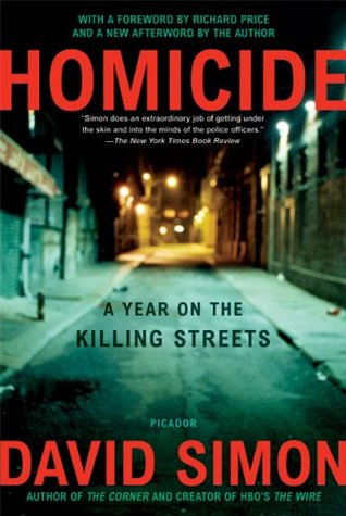 Jacket image, Homicide by David Simon