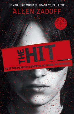 The Hit by Allen Zadoff book cover