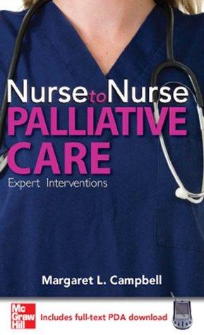 Nurse to Nurse Palliative Care Margaret L. Campbell