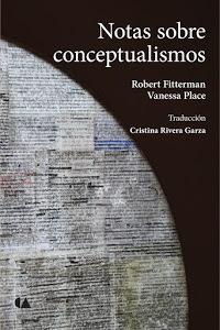Notas sobre conceptualismos Vanessa Place
