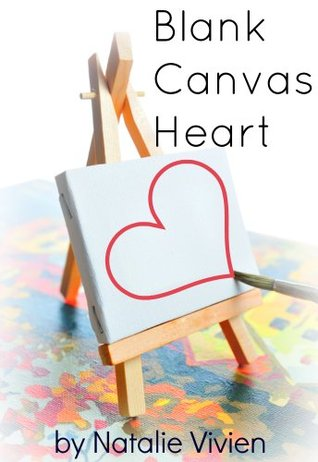 Blank Canvas Heart  by  Natalie Vivien