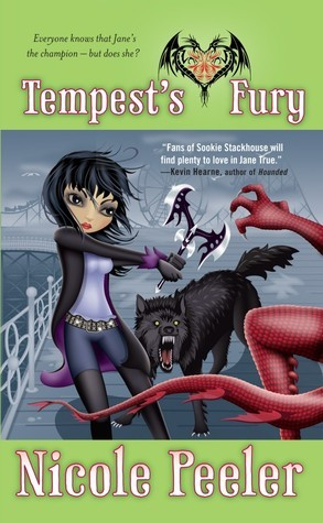 Book Review: Nicole Peeler's Tempest's Fury