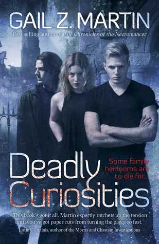 Deadly Curiosities by Gail Z. Martinbook cover