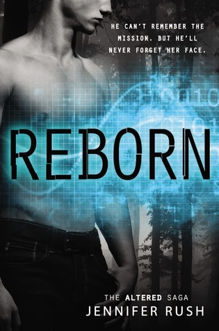 Book Cover of Reborn by Jennifer Rush