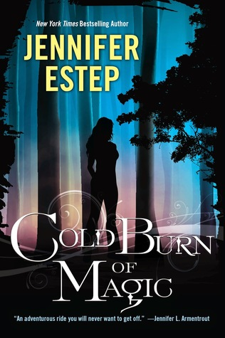 Review and Interview: Cold Burn of Magic by Jennifer Estep