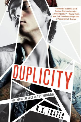 Duplicity by N.K. Traver  book cover