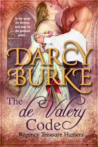 The de Valery Code (Regency Treasure Hunters, #1)