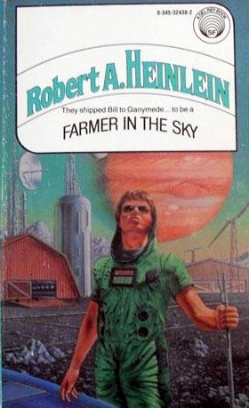 a literary analysis of farmer in the sky by robert a heinlein Examples of literary allusion title include  gilbert and gubar titled their 1979 feminist analysis of 19th century  , novel by robert a heinlein.