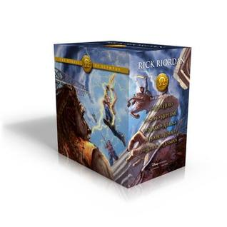 The Heroes of Olympus Hardcover Boxed Set (The Heroes of Olympus, #1-5)