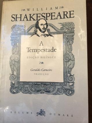 A tempestade - Edição Bilíngue  by  William Shakespeare