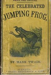 """a literary analysis of """"the celebrated The celebrated jumping frogs of of  this story would also fit into the literary  twain, mark the celebrated jumping frogs of calaveras."""