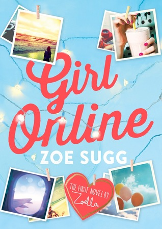 Girl online by Zoe Sugg book review @ ups and downs, smiles and frowns.