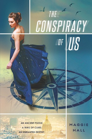 The Conspiracy of Us by Maggie Hall  book cover