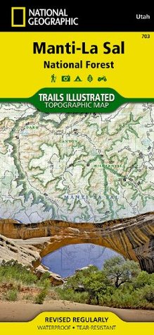 Manti-La Sal National Forest National Geographic Maps - Trails Illustrated