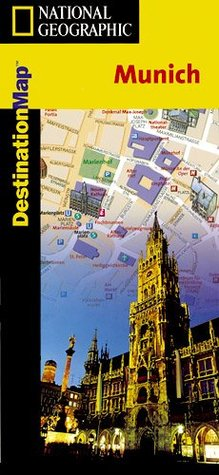 Munich Destination City Map National Geographic Society