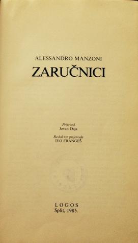 Zaručnici  by  Alessandro Manzoni