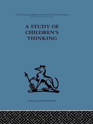 A Study of Childrens Thinking  by  Margaret Donaldson