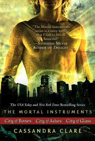 Cassandra Clare: The Mortal Instrument Series (3 books): City of Bones; City of Ashes; City of Glass (2010)