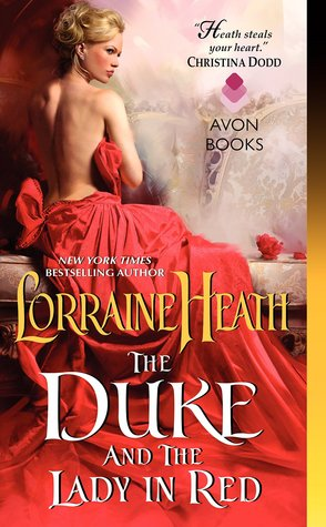 The Duke and the Lady in Red (Scandalous Gentlemen of St. James, #3)