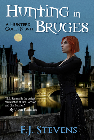 Review: Hunting in Bruges by E.J. Stevens