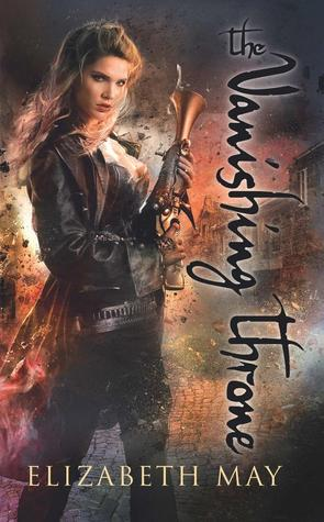 The Vanishing Throne by Elizabeth May book cover