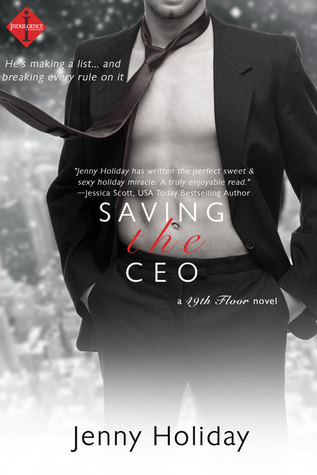 {Review} Saving the CEO by Jenny Holiday
