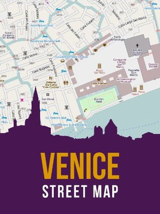 Venice, Italy Street Map eReaderMaps