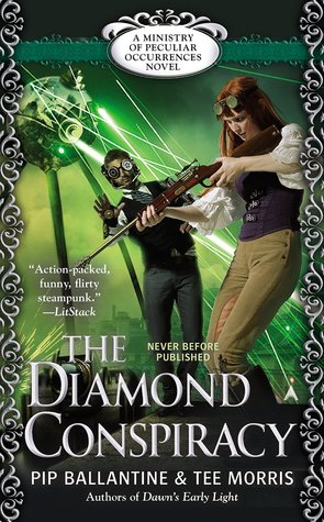 Review: The Diamond Conspiracy by Pip Ballantine & Tee Morris