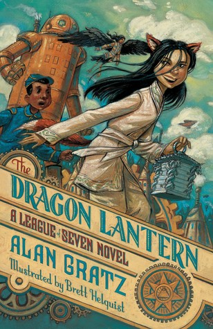 The Dragon Lantern (The League of Seven, #2)