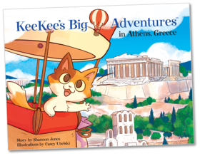 KeeKee's Big Adventures in Athens, Greece by Shannon  Jones